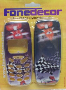 Race car phone cover